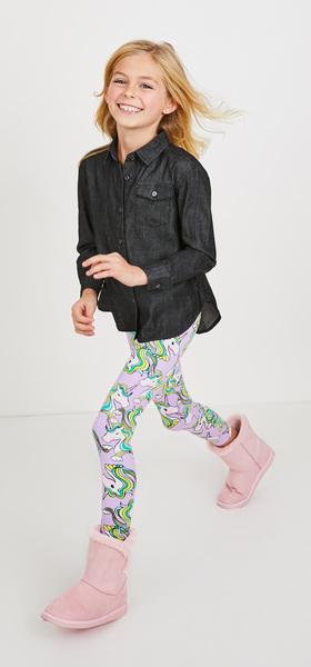 Chambray Unicorn Outfit