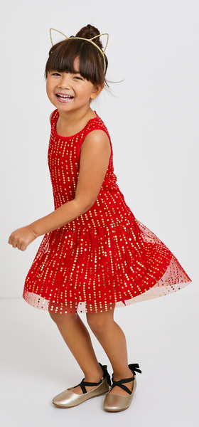 Red Tulle Dress Outfit