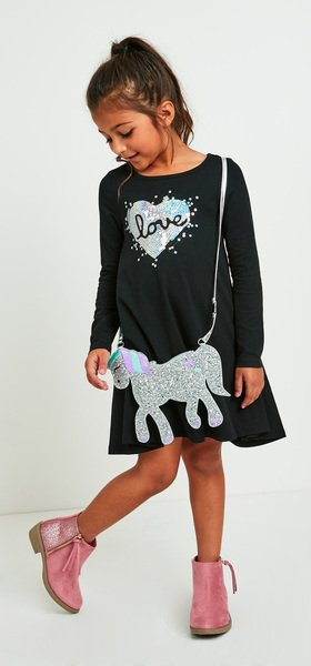 The Sequin Love Dress Outfit