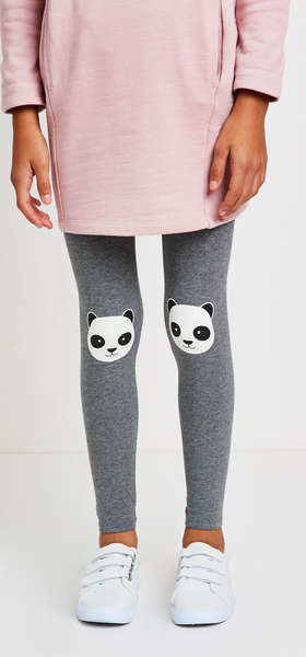 Panda Sweatshirt Dress Outfit