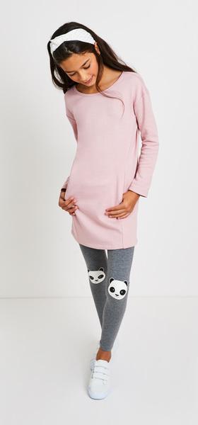 f35f595b9e The Panda Sweatshirt Dress Outfit - FabKids