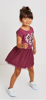 Geo Heart Tutu Dress Outfit