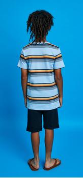 Retro Stripe Short Outfit
