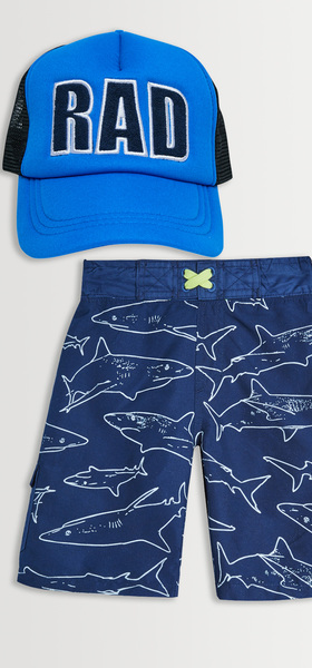Shark Rad Hat Swim Pack