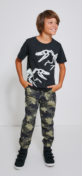 Raptor Skeleton Camo Jogger Outfit