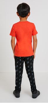 Red Pocket Vee Lightning Outfit