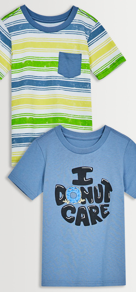 I Donut Care Tee Pack