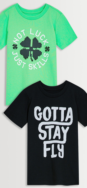 Stay Fly Tee Pack