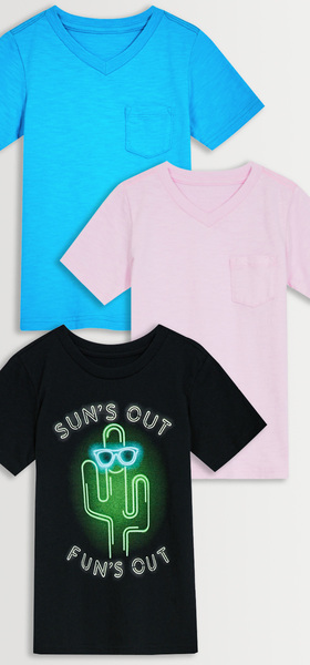 Sun's Out Tee 3-Pack