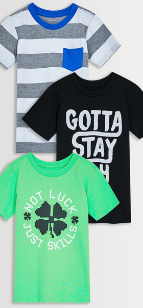 Stay Fly Tee 3-Pack