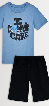 Donut Care Tee & Short Pack