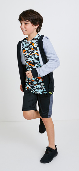 Camo Hoodie Active Outfit