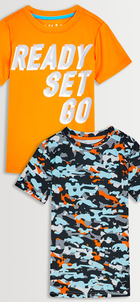 Ready Set Go Active Tee Pack