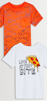 Dino Pizza Tee Pack