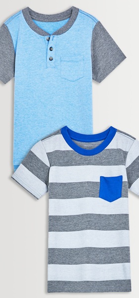 Colorblock Pocket Tee Pack