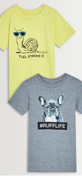 #RuffLife Tee Pack