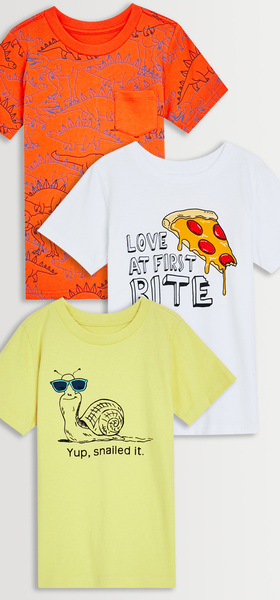 Dino Pizza Graphics 3-Pack