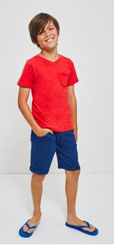 Basic Pocket Vee Short Outfit