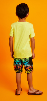 Llama Palm Swim Outfit