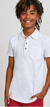 Slub Pocket Polo Outfit
