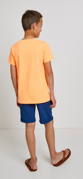 Orange Pocket Vee Outfit