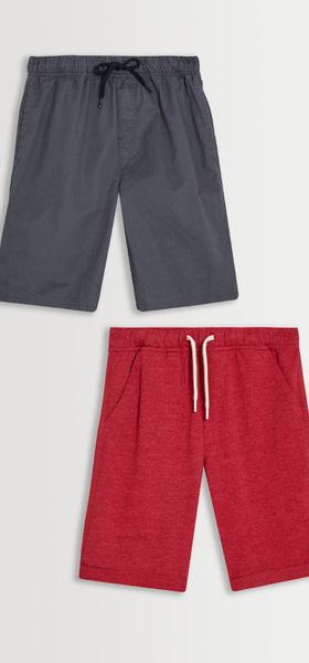 Woven & Knit Short Pack