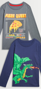 Pizza Dragon Tee Pack
