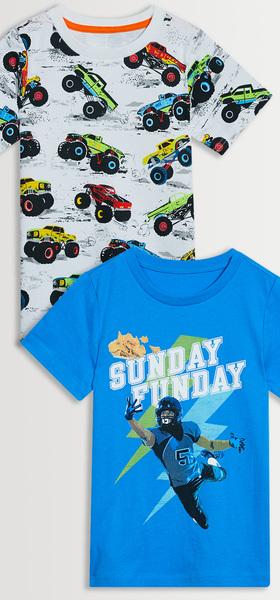 Monster Truck Sunday Tee Pack