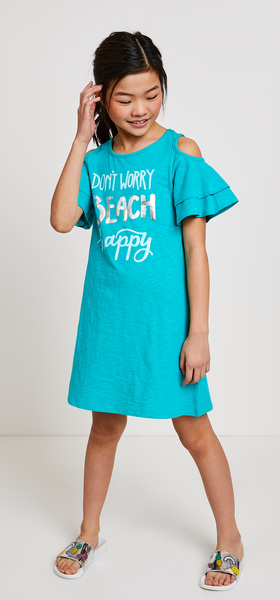 Beach Happy Dress Slide Outfit