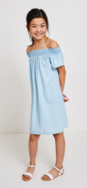 Chambray Dress Outfit