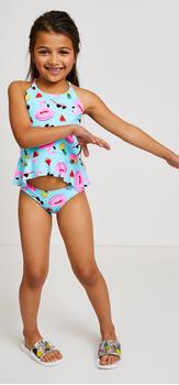 Tankini Sunglasses Swim Outfit