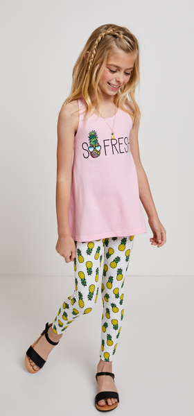 So Fresh Pineapple Outfit