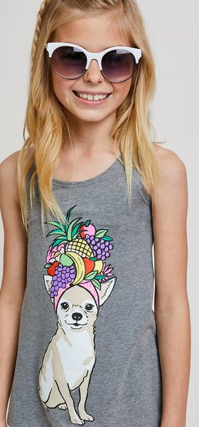 Pineapple Dog Short Outfit
