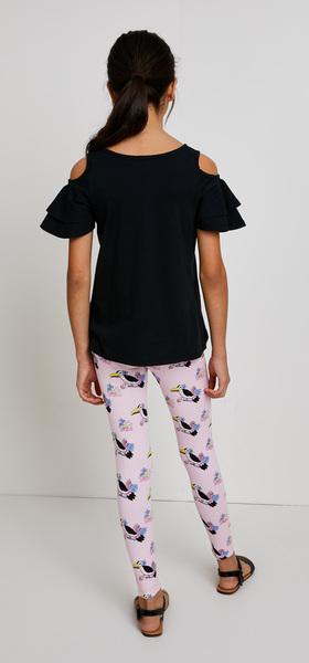 Double Ruffle Toucan Outfit