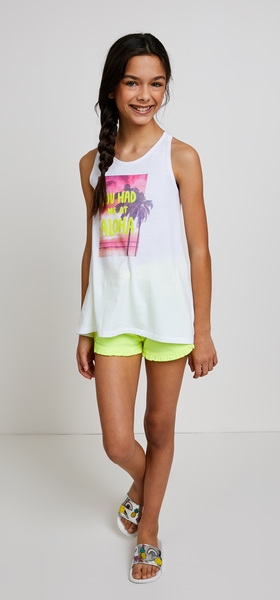 Aloha Tank Short Outfit