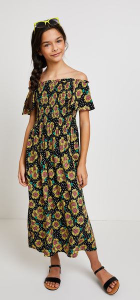 Sunflower Dress Outfit