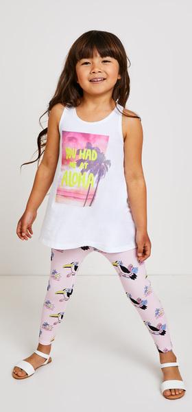Aloha Tank Legging Outfit
