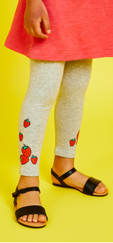 Life Is Sweet Strawberry Legging Outfit