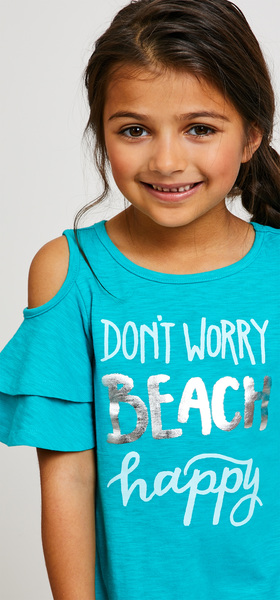 Beach Happy Dress Legging Outfit