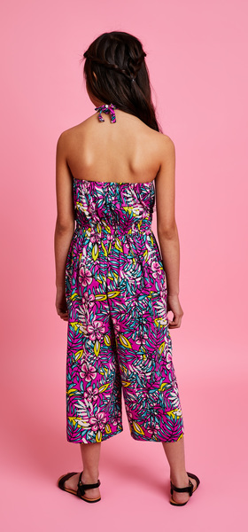 Hibiscus Jumpsuit Outfit