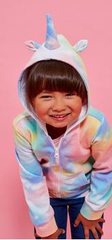 Zip Up Unicorn Hoodie Jegging Outfit