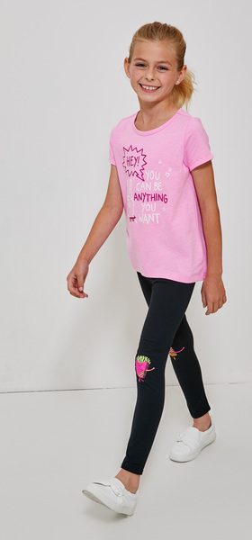 You Can Be Anything You Want Legging Outfit