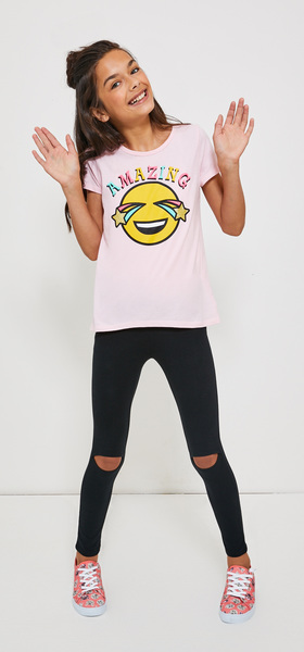 Amazing Emoji Legging Outfit