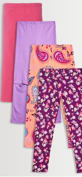 Floral Paisley Legging Pack