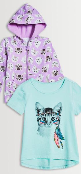 Kitten Tee & Hoodie Pack