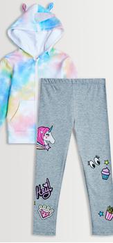 Unicorn Hoodie Legging Pack