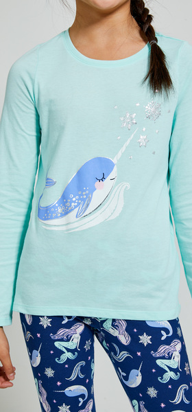 Winter Narwhal Outfit