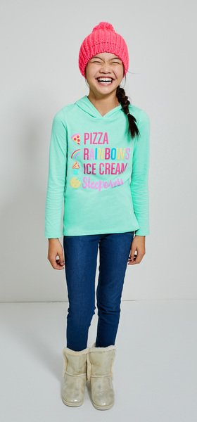 Pizza Pom Outfit