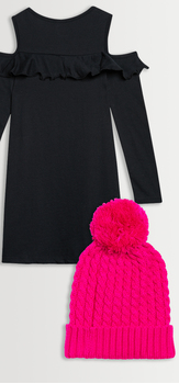 Cold Shoulder Pink Beanie Pack