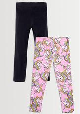 Pink Unicorn Legging Pack
